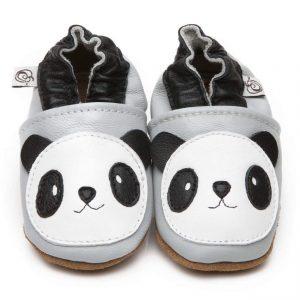 chaussons en cuir doux bébé