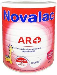 meilleur lait anti régurgitation
