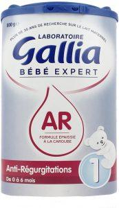 lait anti régurgitation
